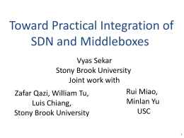 Toward Practical Integration of SDN and Middleboxes