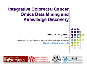 OMICS and Pathway Integration for Knowledge Discovery