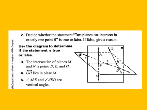 1.2 and 1.3 Segment and Segment Congruence with midpoint