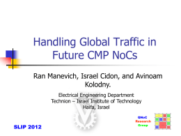 slides - Ran Manevich