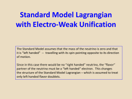 Lecture.11.Standard.Model.Electro