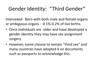 Third Gender ABC News
