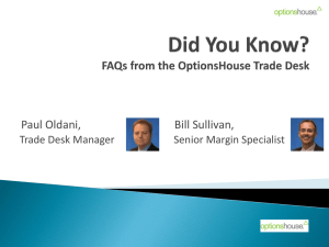 Did You Know? - OptionsHouse