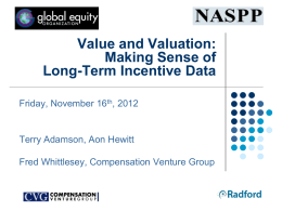 Value and Valuation