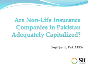 6. Are non-life Companies Adequately Capitalized