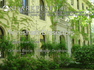 Writing a Wireshark Dissector