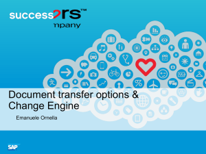 Document Transfer options 04Feb2014