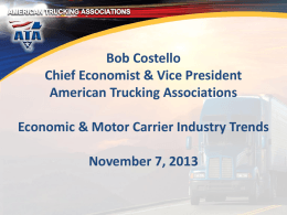 Utah Trucking Association 2013 Annual Conference