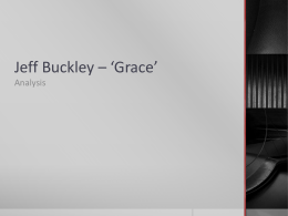 Jeff Buckley * *Grace*