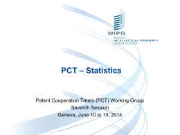 The PCT * An Overview