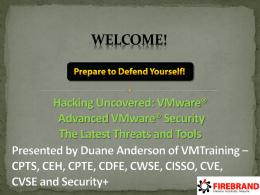 VASTO - VMware