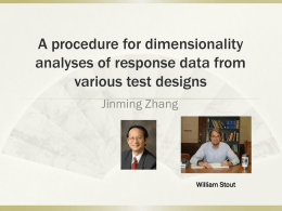 A_procedure_for_dimensionality_analyses_of_response_data