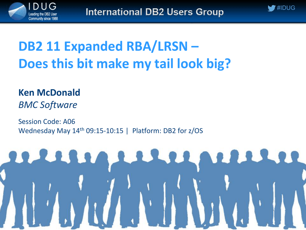 DB2 11 Expanded RBA/LRSN – Does this bit make my tail look big