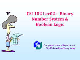 cs1102_12B_lec02 - Department of Computer Science