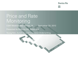 Price Monitoring in Corporate Solutions
