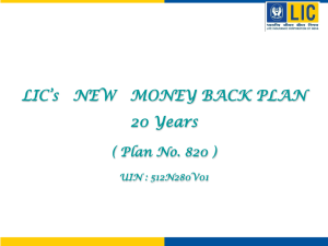 Money Back plan_820