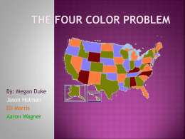 The Four Color Problem