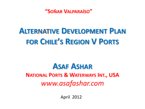 Alternative Development Plan for Central Chile*s Ports