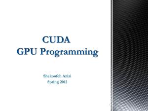 NVIDIACUDA Toolkit Documentation
