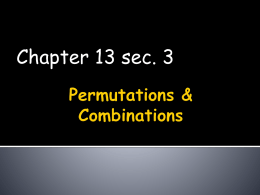 Chapter 13 sec 3