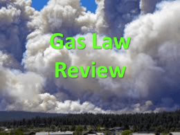 Gas Law Review - Mounds View School Websites