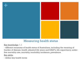 1.1 measuring health status_2015