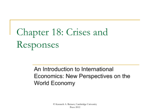 Chapter 18 - An Introduction to International Economics