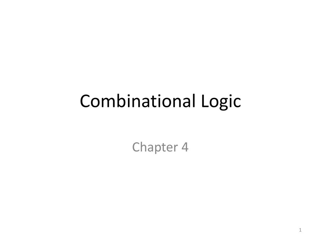 Chapter 4 Combinational Logic 2 Bit Multiplier Diagram