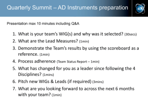 4DX Quarterly Summit Template – AD Instruments