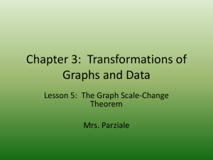 Lesson 5: The Graph Scale