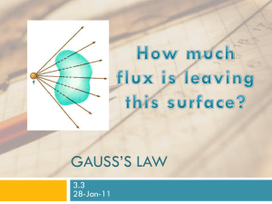 Gauss - UCF Physics