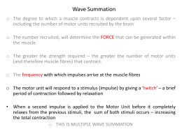 Summation/Wave Summation
