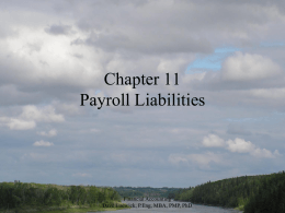 Financial Accounting Chapter 11