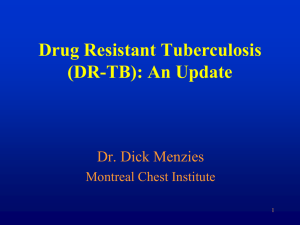 DIAGNOSIS OF TB DISEASE Do`s and Don`ts What happens if you