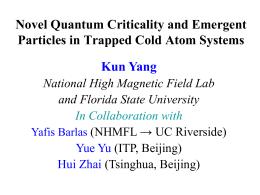 Supersymmetric Bose-Fermi Mixture