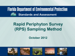 RPS Training Presentation - Florida Department of Environmental