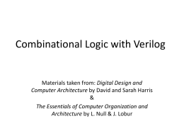 Lecture 4 - Department of Computer Science