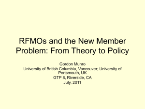 From Theory to Policy - Water Science and Policy Center