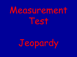 Let`s Play Jeopardy