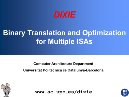 Dixie: A Retargetable Binary Instrumentation Tool