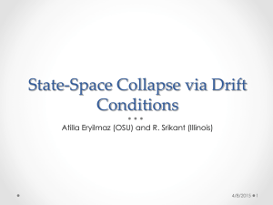 State-Space Collapse via Drift Conditions