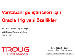 PL/SQL Enhancements in Oracle Database 11g