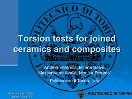 Torsion Test - Composites