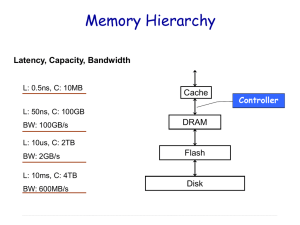 Recent Progress in Embedded Memory Controller Design
