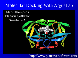 Docking_With_ArgusLab