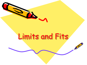 Limits and Fits - Physics Champion