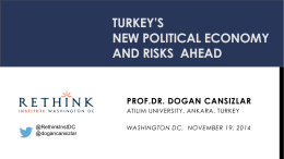 Turkey`s New Political Economy