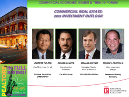 commercial real estate - National Association of Realtors