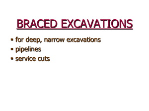 Braced Excavations - spin.mohawkc.on.ca