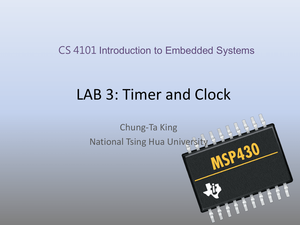 Lab03-Timer